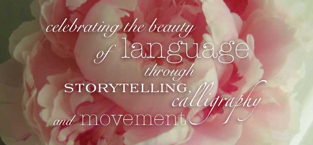 freelance storytelling, calligraphy, and art therapy